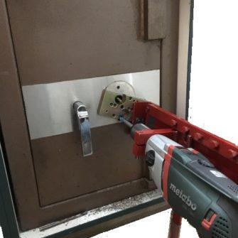 drill open